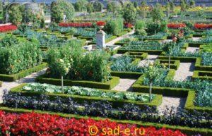 огород в классическом стиле
