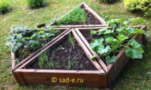 форма огорода